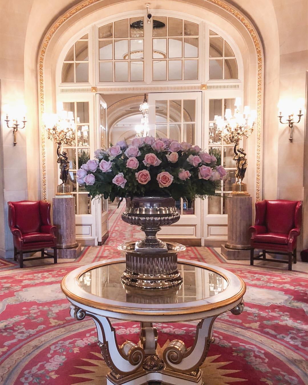 The ritz London roses