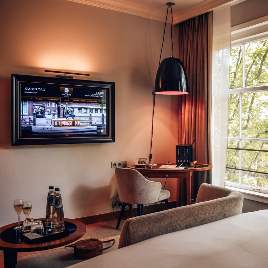 THE GRAND | Step into one of our cozy rooms, that offer a...