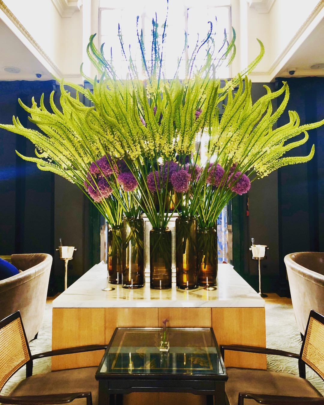 Rosewood London hotel flowers