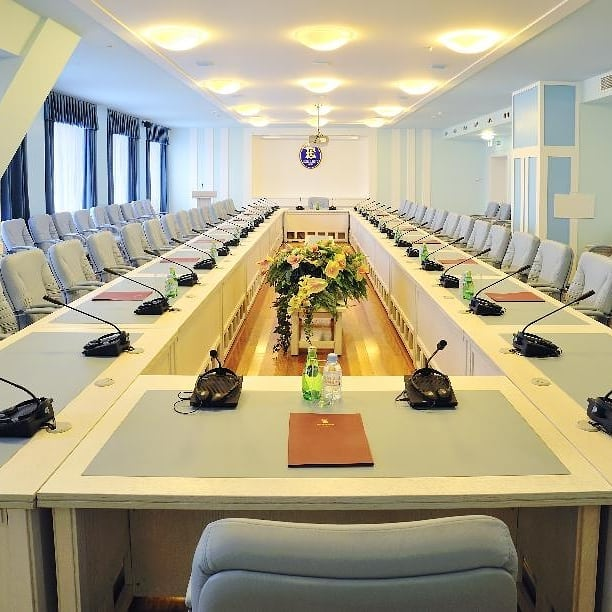 The hotel's multifunctional Conference Hall is intend...