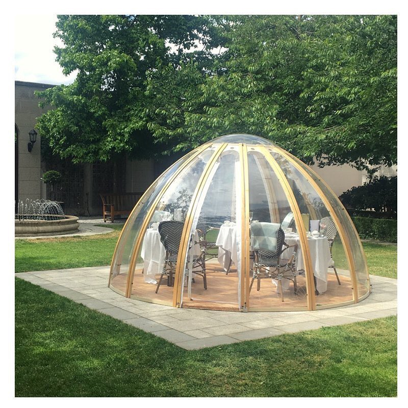 Aren't these pods amazing? Afternoon tea, lunch or bu...
