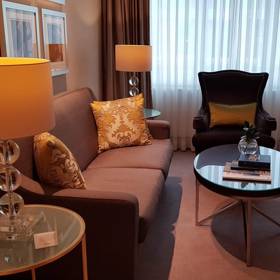 Stylish suite at @hotelcontinentaloslo