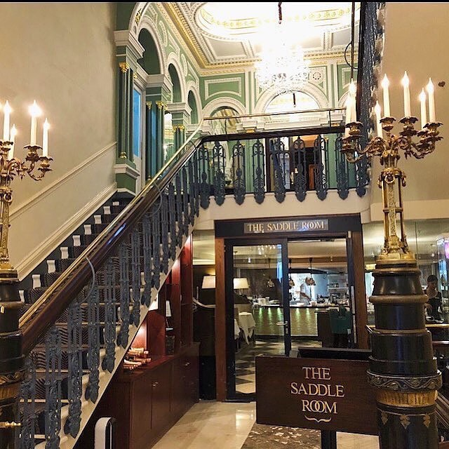 The charm of The Shelbourne in Dublin makes your mind tra...
