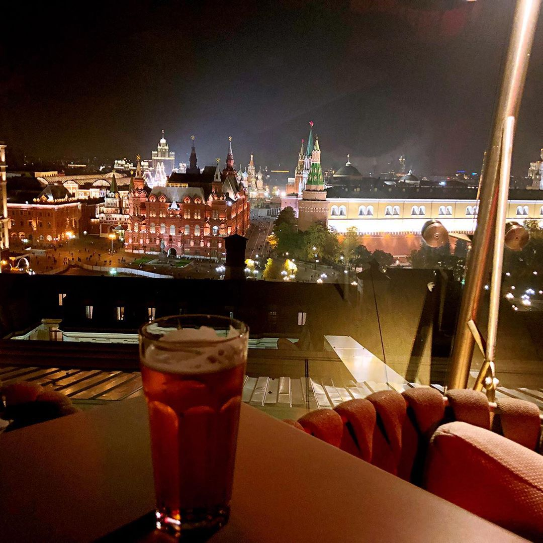 The ritz-Carlton Moscow bar