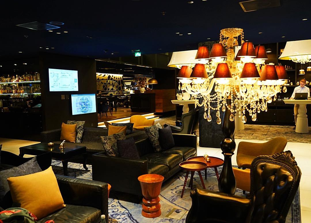 Andaz Amsterdam Prinsengracht, designed by Marcel Wanders...