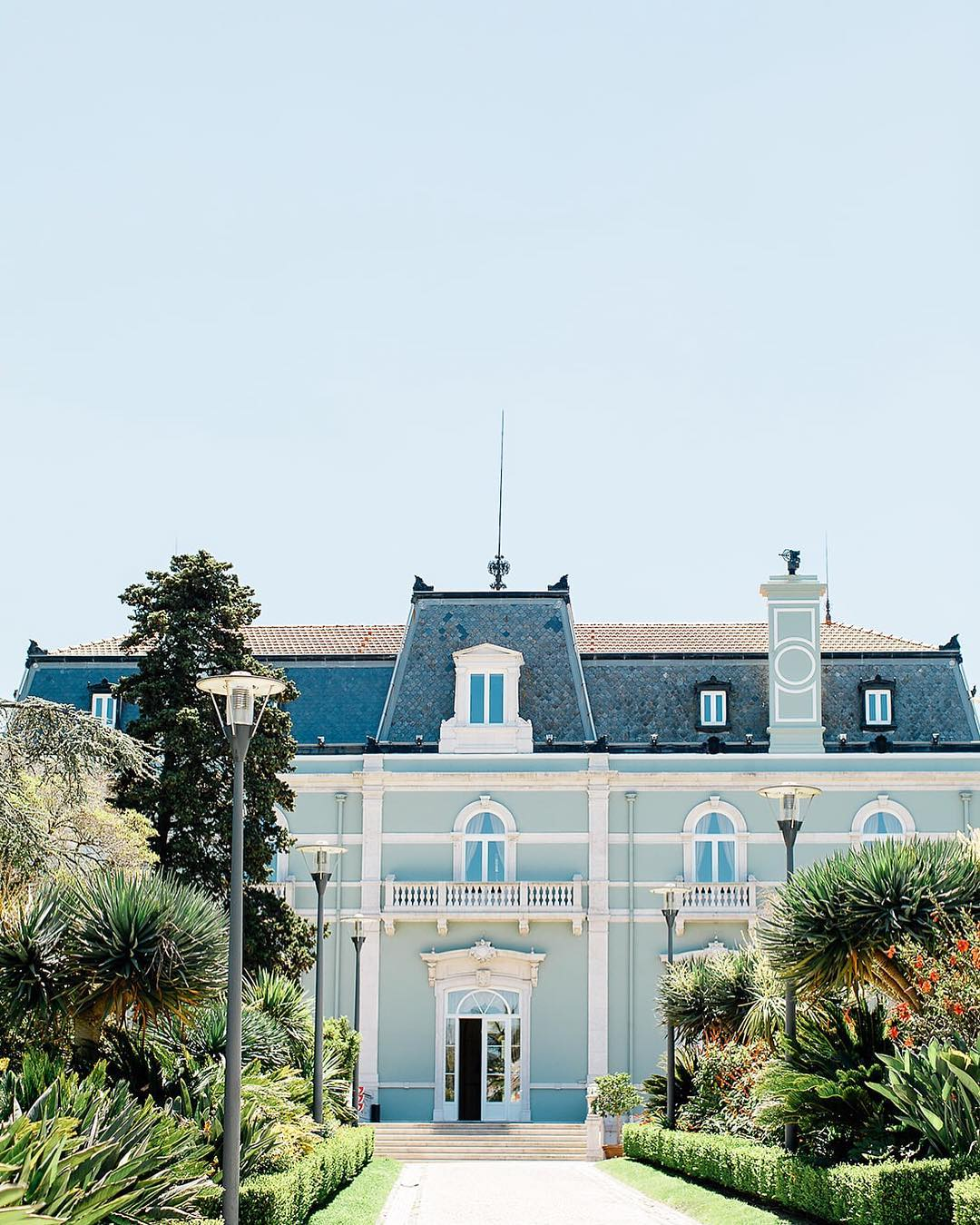 Pestana Palace is a dream venue.This facade goes so well ...