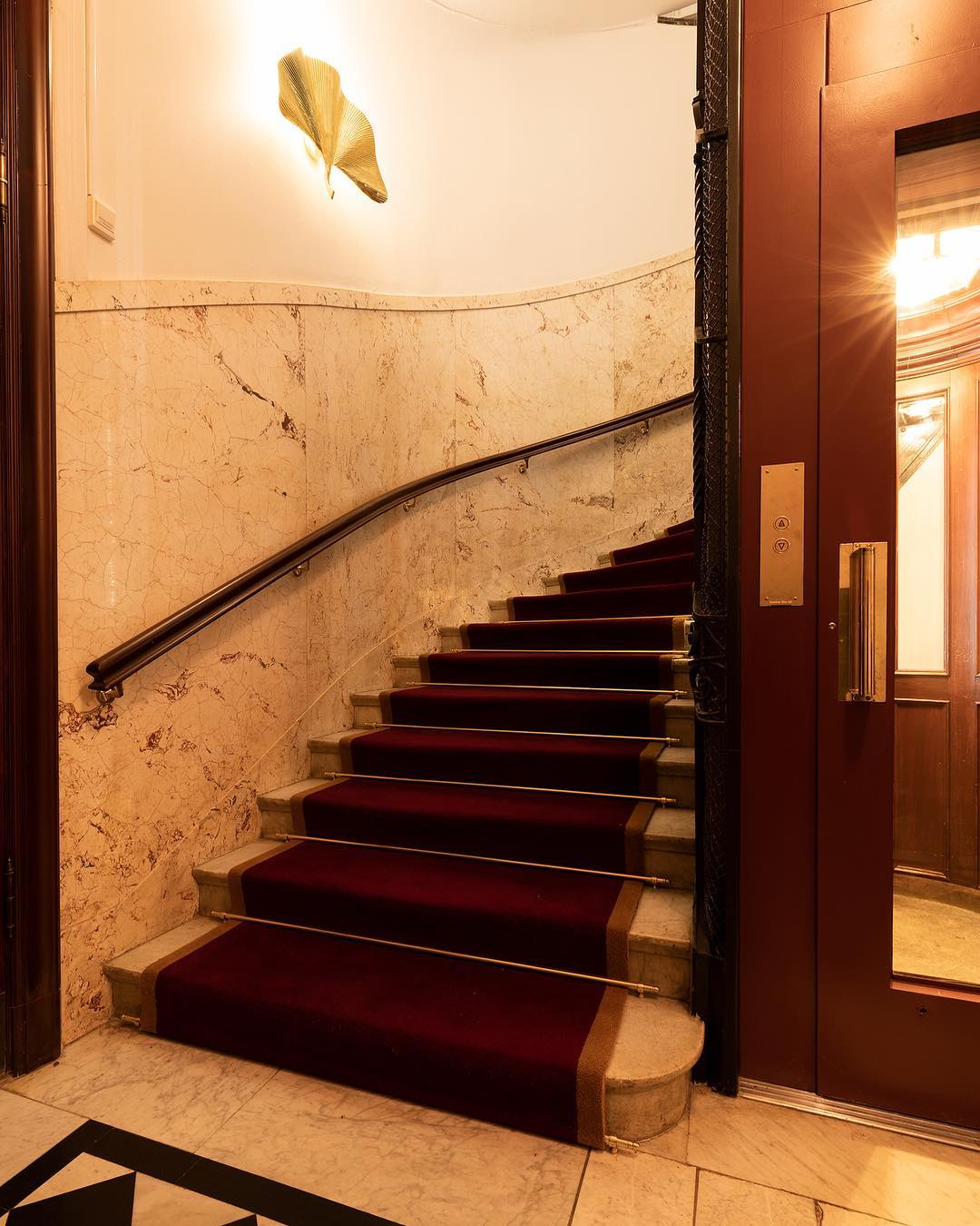 Staircase to heaven.<br /> #bankhotelstockholm #bankhotel...