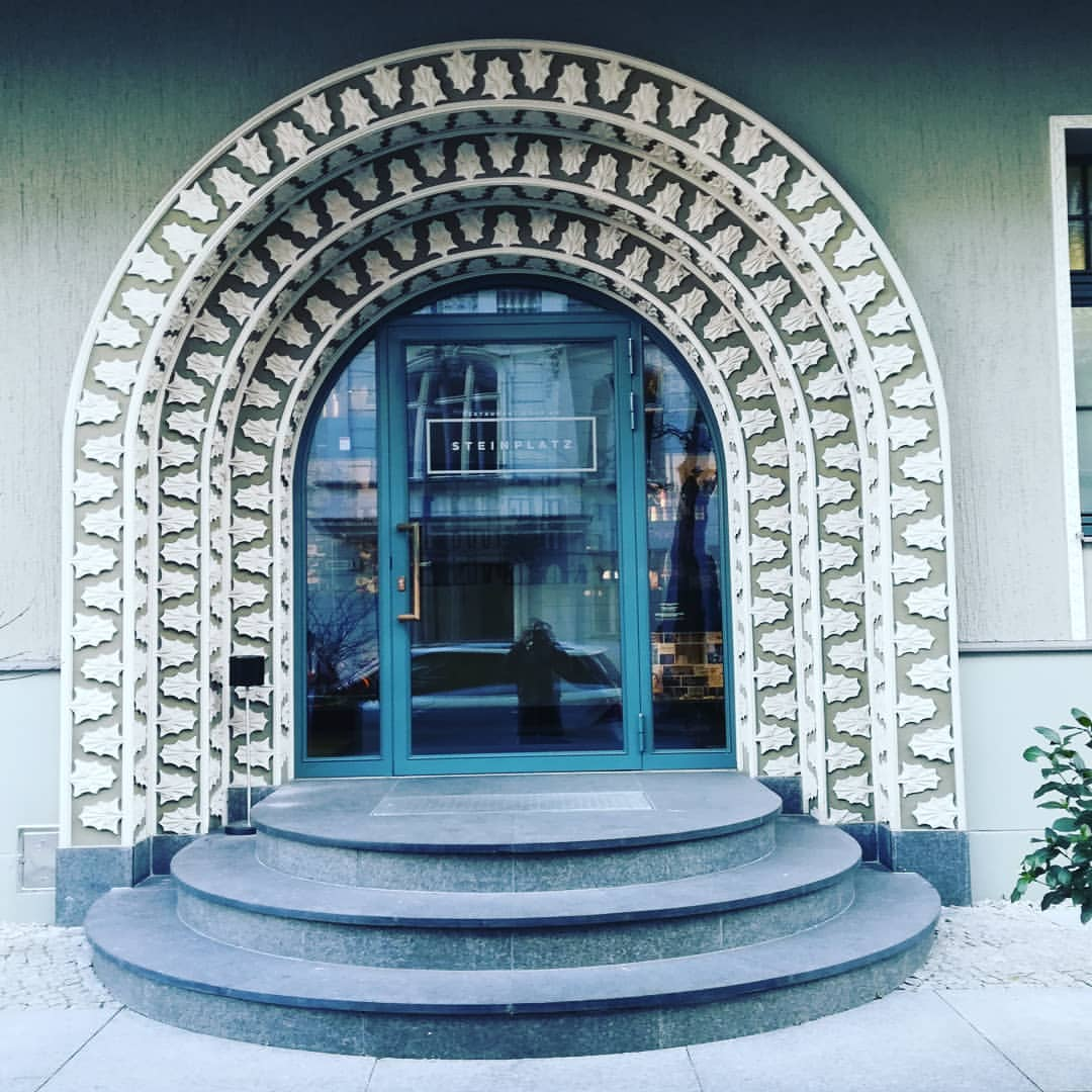What a cool entrance! This is my new favorite hotel in Be...