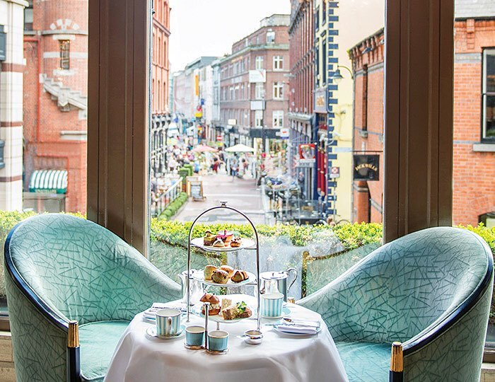 Afternoon tea is a Dublin institution, and nowhere is it ...