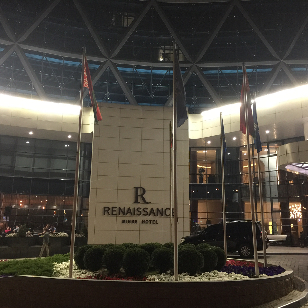 Now staying at Renaissance Minsk Hotel.<br /> One importa...