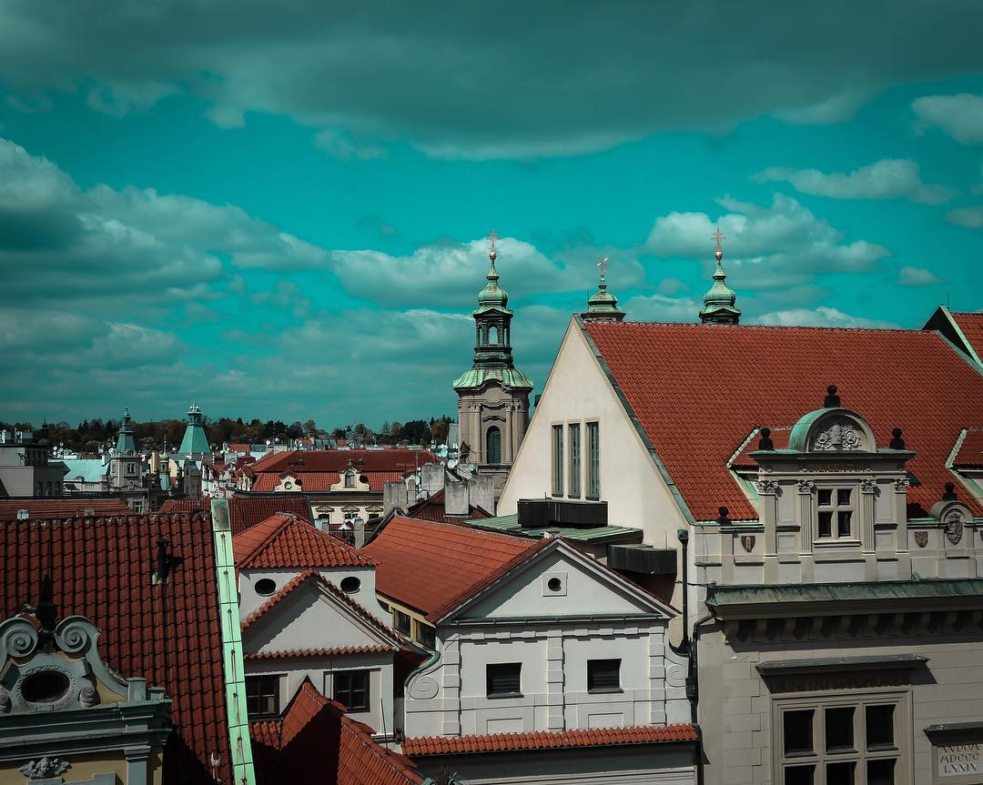 Prague has so many rooftop bars which are so worth a visi...