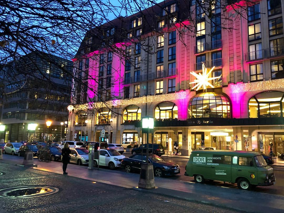Hilton Berlin is wonderfully located, exceptionally comfo...