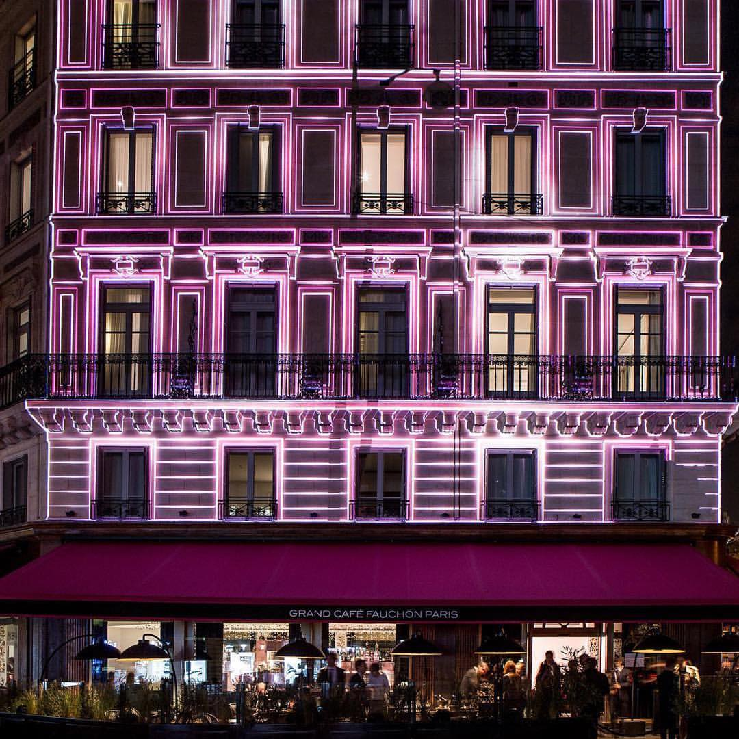 Fauchon l hotel Paris view
