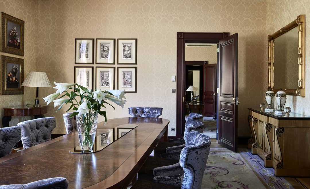 The pride and crown jewel of Hotel Kämp: The Mannerheim S...