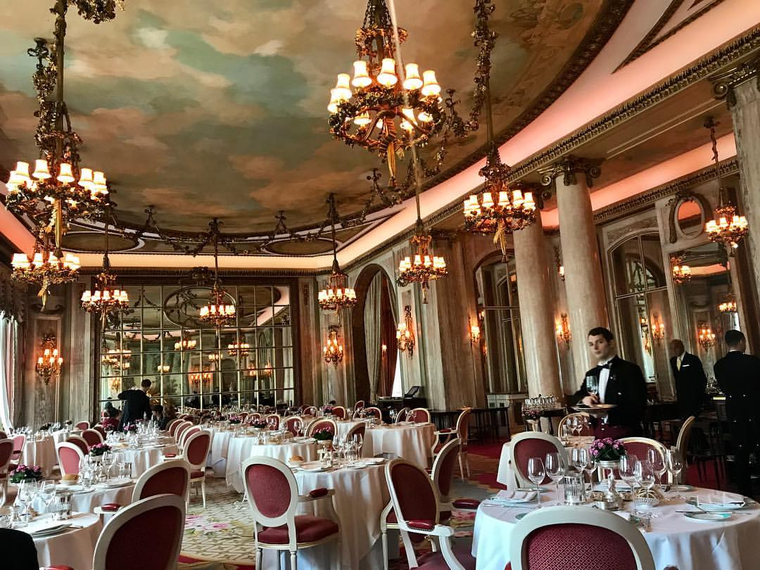 The ritz London restaurant