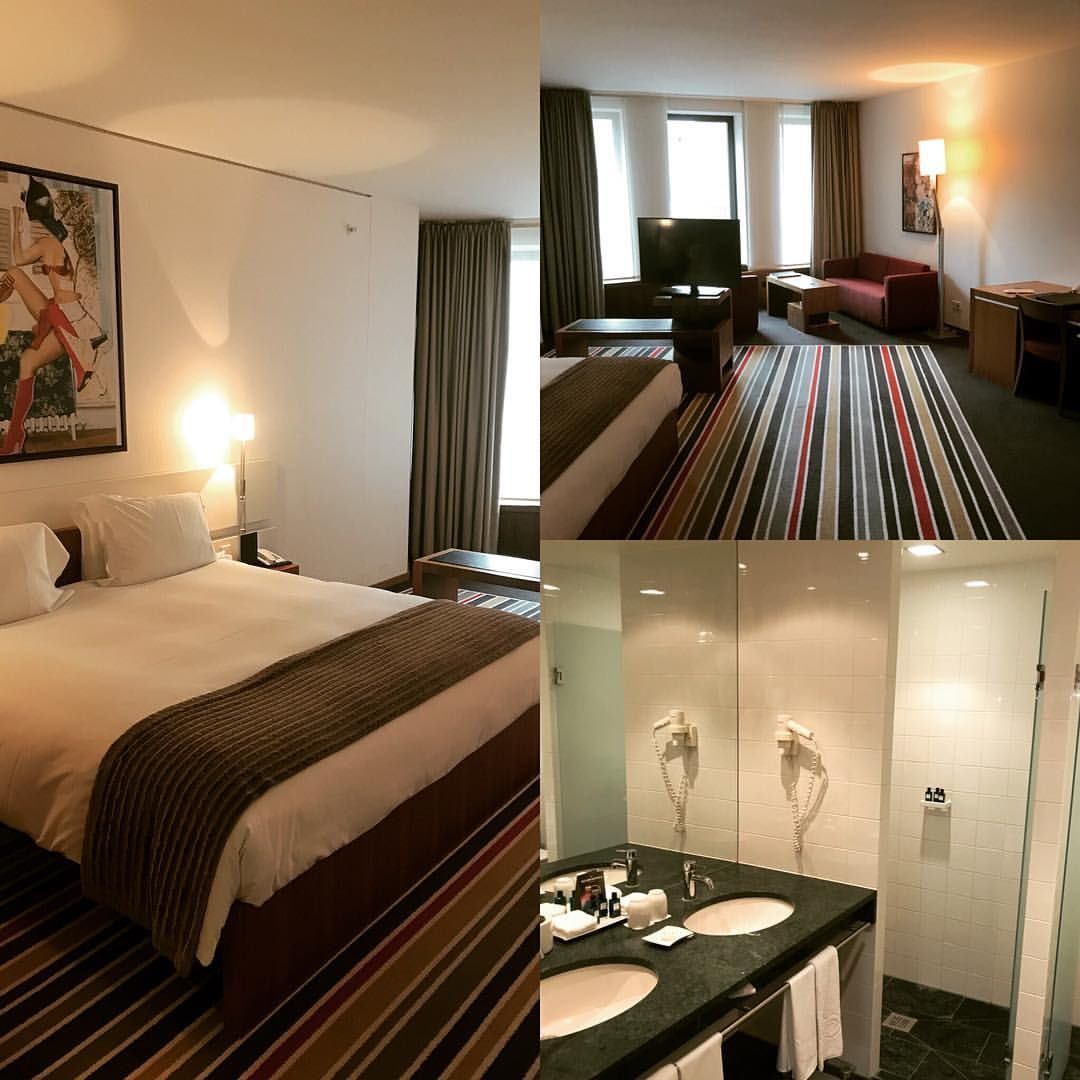 Sofitel room collage