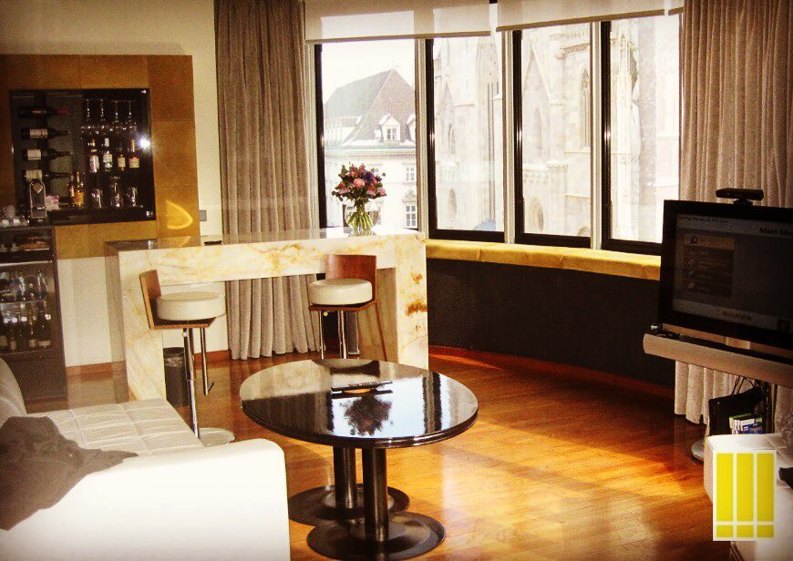Deluxe Suite Hotel 5* Do&Co a Vienna.