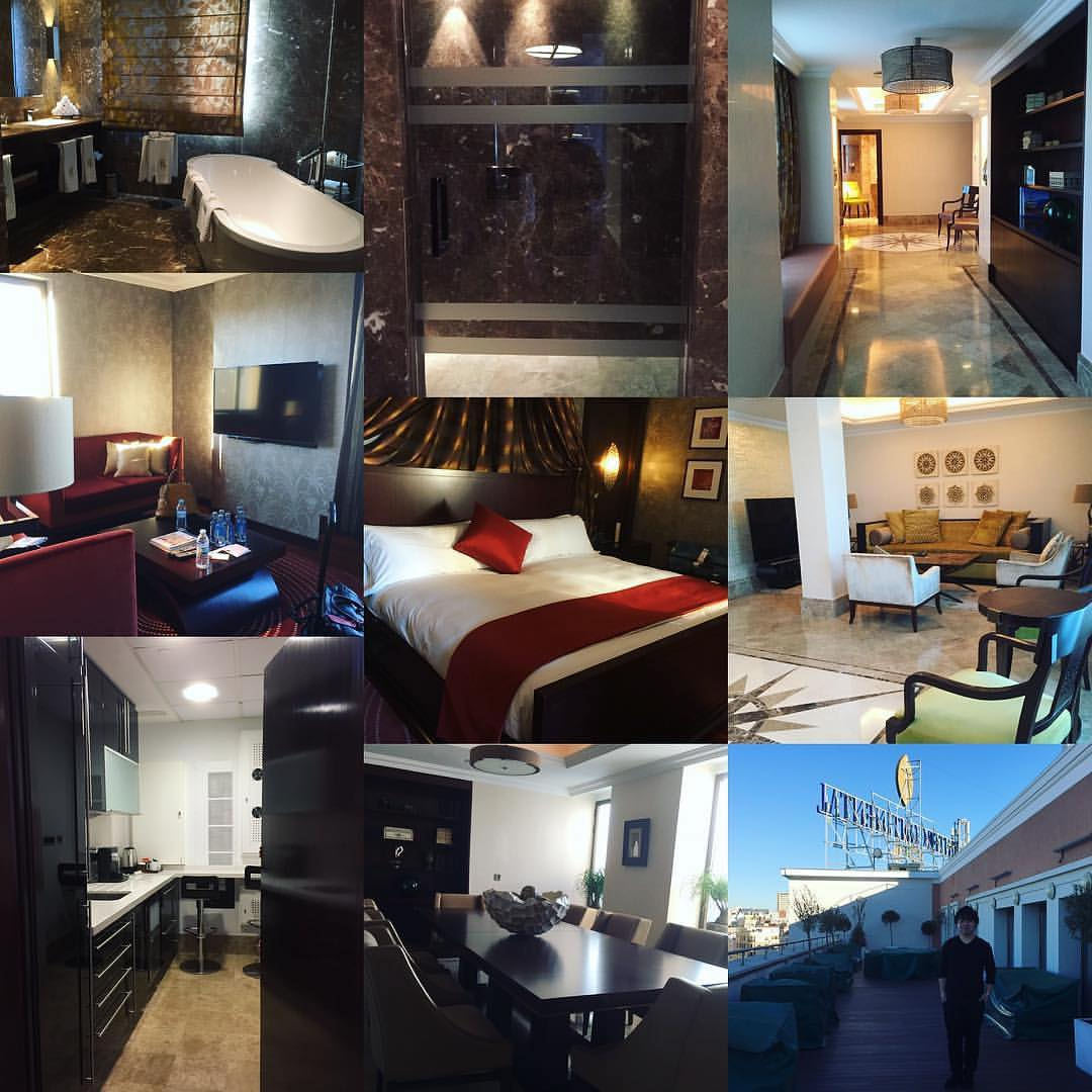 Intercontinental Madrid collage