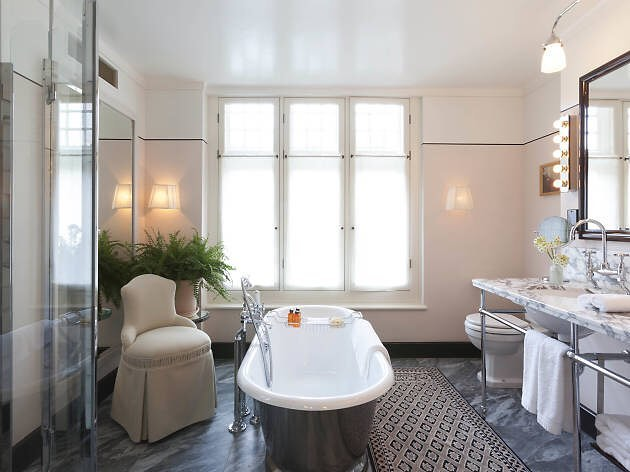 Chiltern Firehouse hotel bathroom