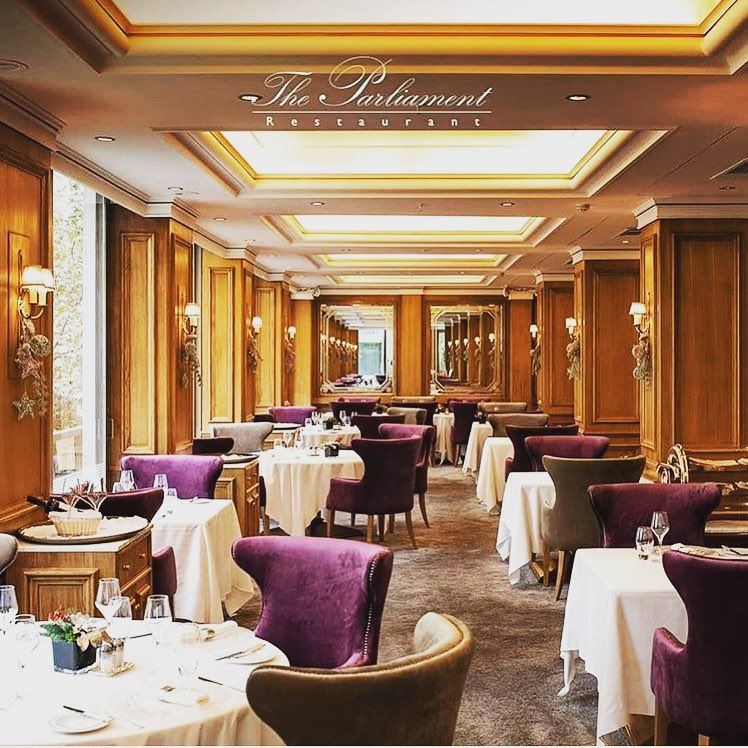 The Parlament Restaurant ...sophisticated...classy with a...