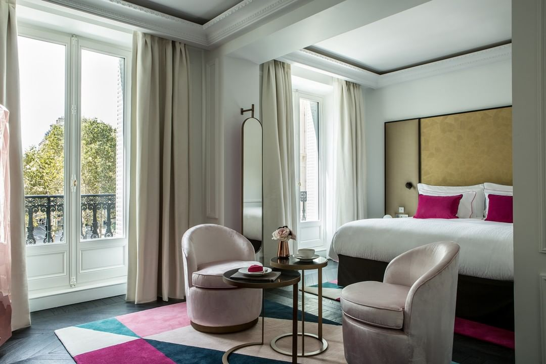 Fauchon l hotel Paris room
