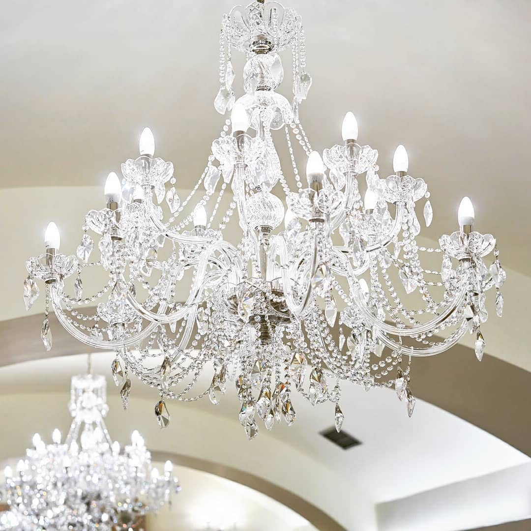 Wranovsky chandeliers from Aristocratico collection in a ...