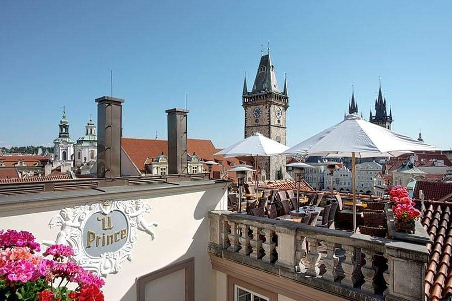 The #Hotel U Prince in #Prague brings the #romance into y...