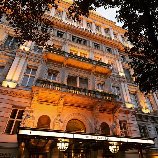 The Hotel Imperial Vienna is one of the city's finest hotels